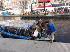Wisata kanal Leiden