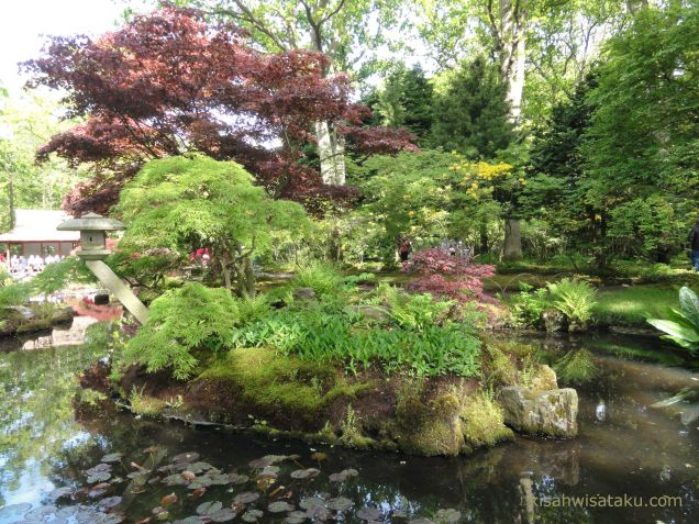 Jalan-jalan taman Jepang di Belanda