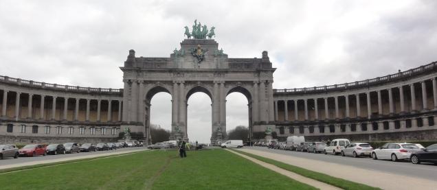 Triomfboog di Jubelpark Brussel