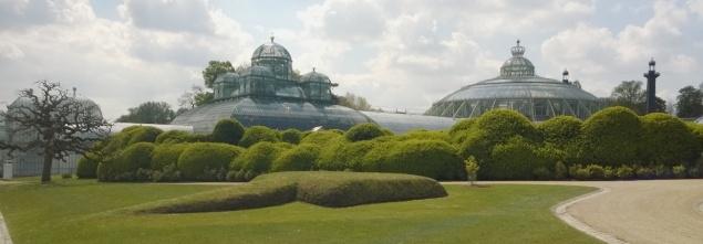 Wisata Belgia istana Laken Brussel