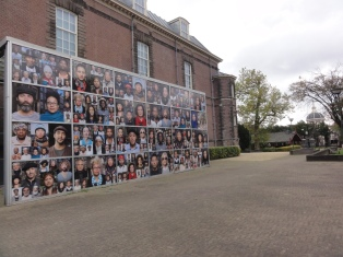 Bagian samping museum Volkenkunde Leiden